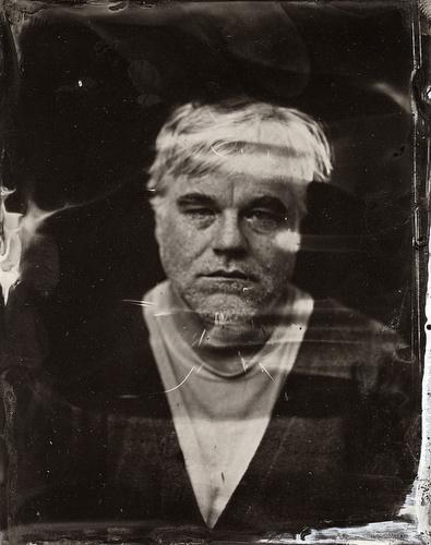 2014 Sundance TIn Type Portraits - Philip Seymour Hoffman